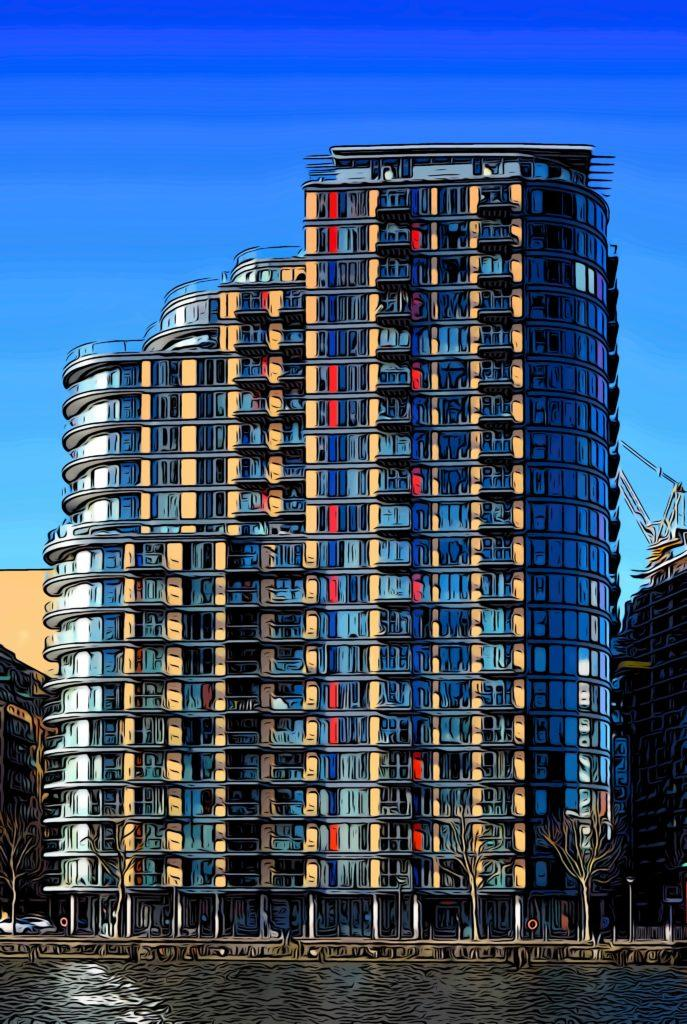 2 Bed Apartment Property for Sale in Canary Wharf, South Quay, E14 9DL by Adamson Knight Estate Agents